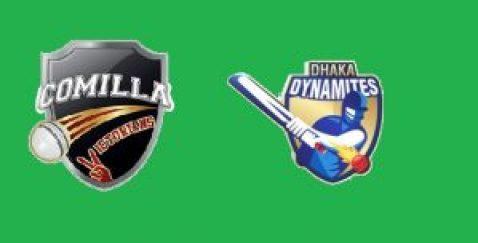 Match prediction of Dhaka dynamites vs Comilla victorians