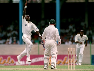 Two decades since Curtly Ambrose devastating spell of 7 for 1 run