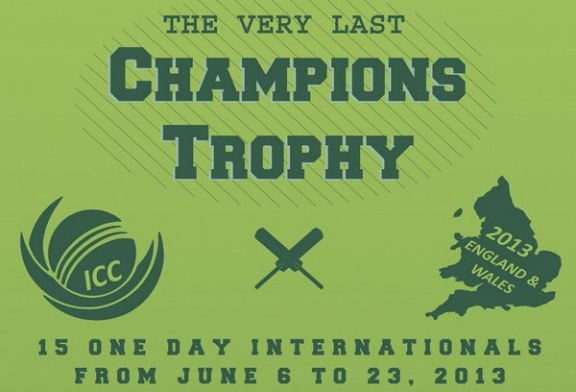 Battle for the last ICC Champions Trophy begins – Infographic