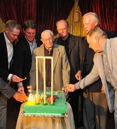 Happy birthday to Norman Gordon - the oldest cricketer alive