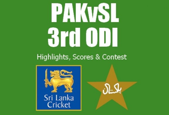 Pakistan vs Sri Lanka 3rd ODI   Live Scores, Highlights & Contest