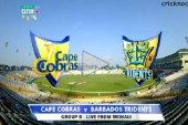 Watch Barbados Tridents vs Cape Cobras CLT20 2014 Highlights