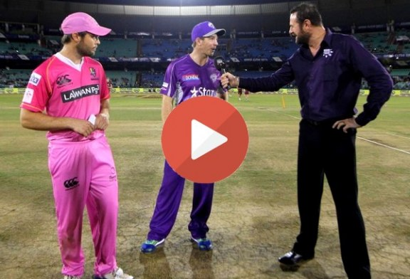 Hobart Hurricanes vs Northern Knights CLT20 2014 Highlights