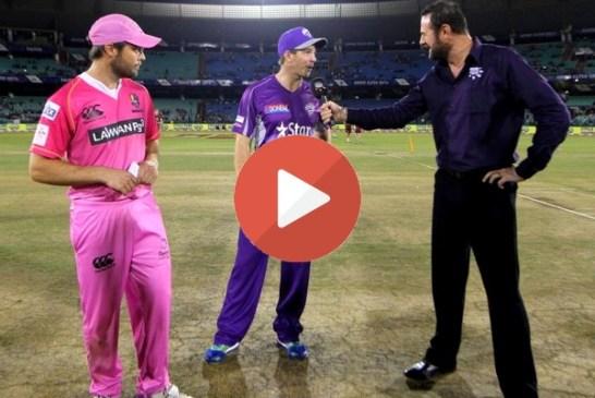 Hobart Hurricanes vs Northern Knights CLT20 2014 Highlights