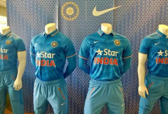 Indian Cricket Team Kit For ICC Cricket World Cup 2015 Revealed