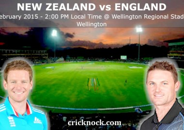 New Zealand vs England Highlights - ICC Cricket World Cup 2015