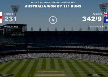 Australia vs New Zealand Highlights of the 2nd match in ICC Cricket World Cup 2015