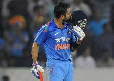 Virat Kholi Century Against Pakistan in ICC Cricket World Cup 2015