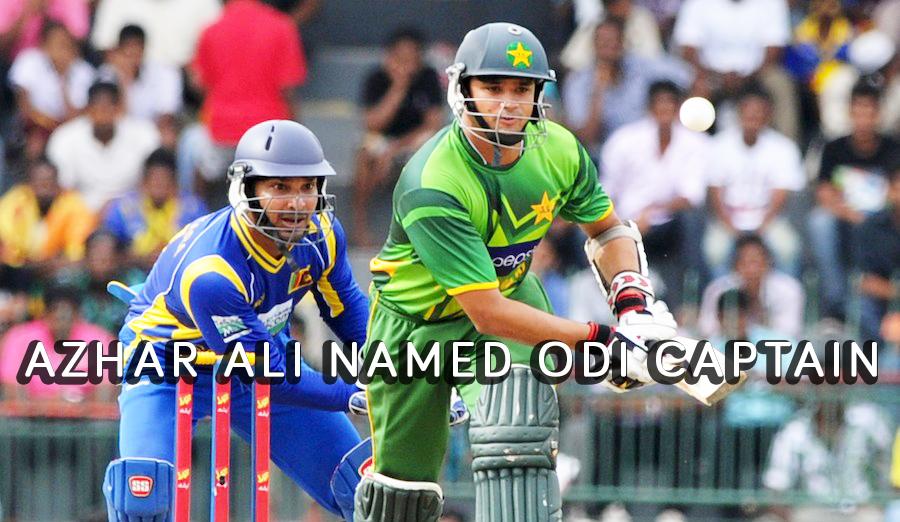 Azhar Ali named Pakistan's ODI Captain