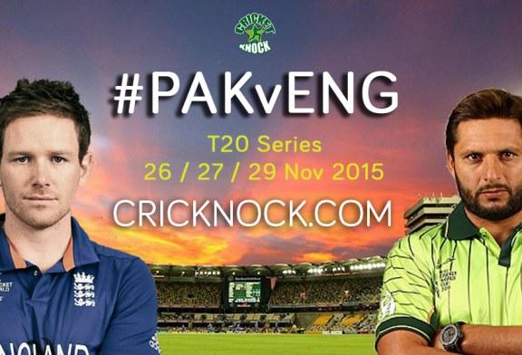 Watch Pakistan vs England T20 Series Live Streaming