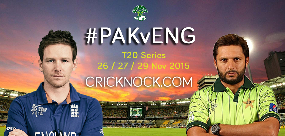 Watch Pakistan vs England T20 Series Live Streaming