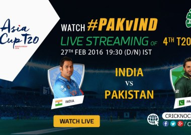 Pakistan vs India Asia Cup Live 2016