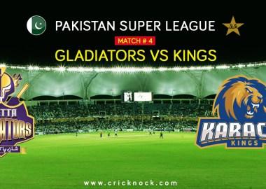 Karachi Kings vs Quetta Gladiators Highlights