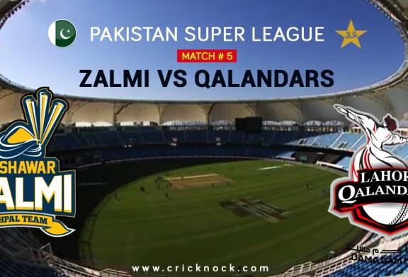 PSL T20 Match 5 | Watch Peshawar Zalmi vs Lahore Qalandars Highlights