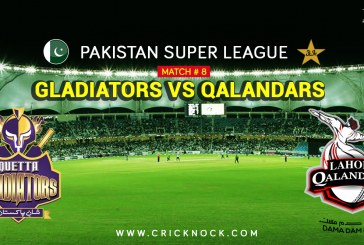 PSL T20 Match 8 | Watch Lahore Qalandars vs Quetta Gladiators Highlights
