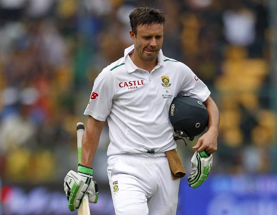 AB De Villiers Steps Down From Test Captaincy