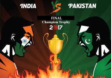 Champions Trophy 2017 Final - Pakistan Vs India