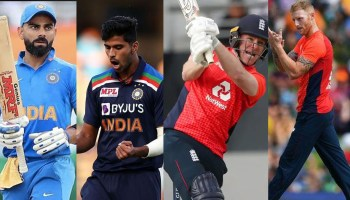predicted XIs India-England 1st T20I