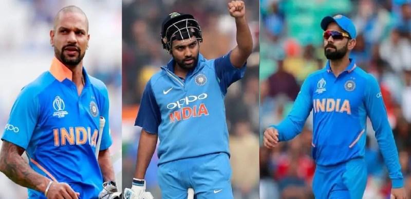 Most runs in IPL: Rohit sharma, virat kohli and shikhar dhawan
