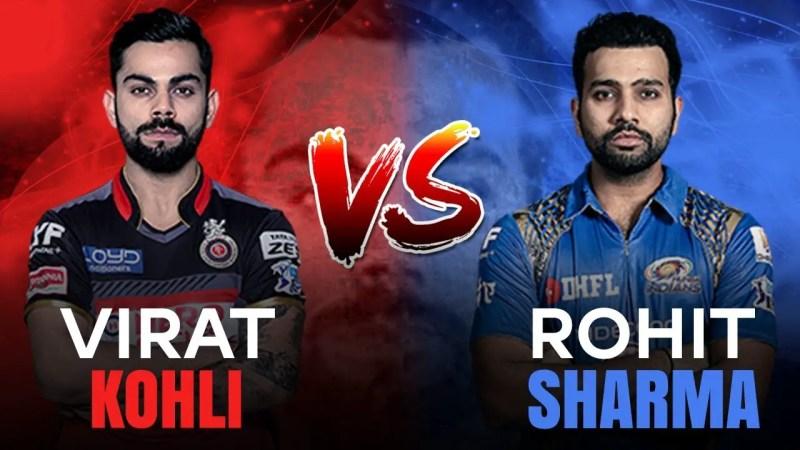 Rohit and Kohli against England: virat vs rohit