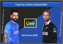 India Tour of New Zealand 2020