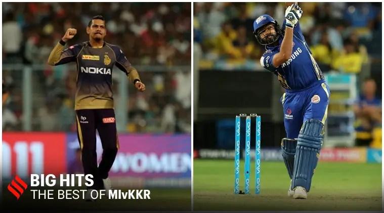 MI vs KKR आईपीएल इतिहास