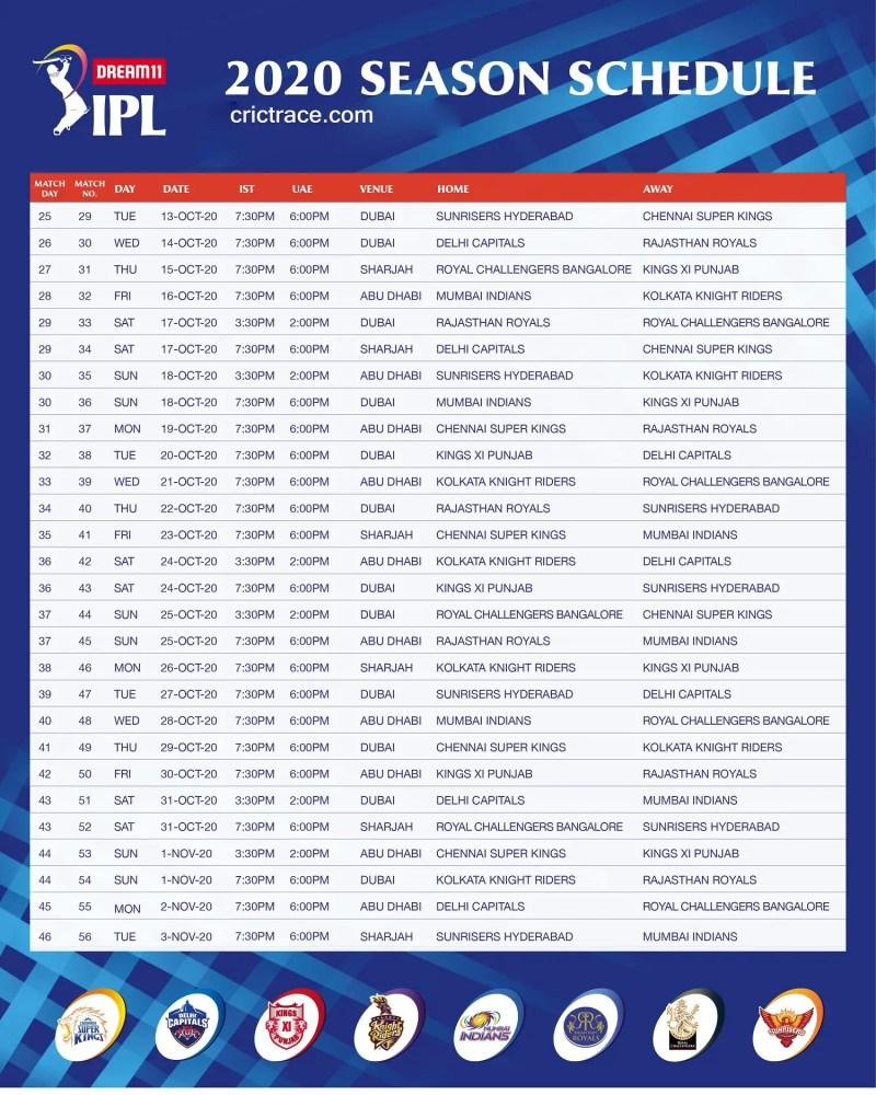 Dream-11-IPL-2020-Match-Schedule-2