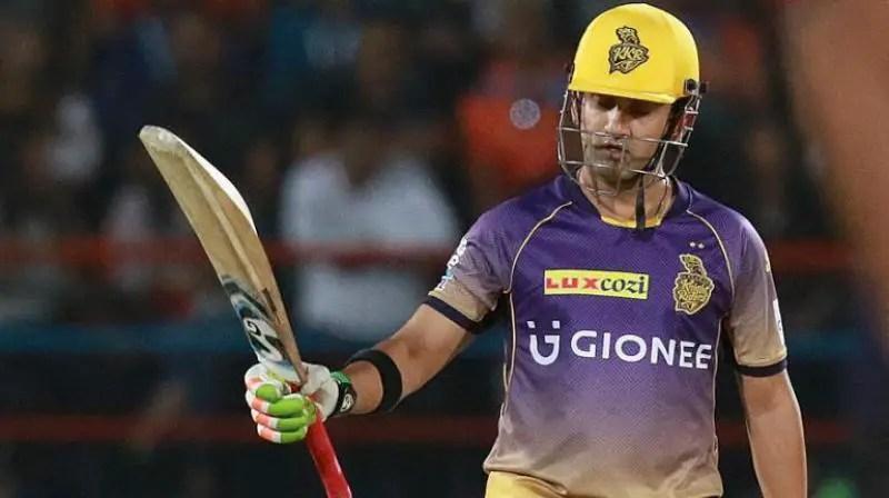 best captain: 3-Gautam Gambhir