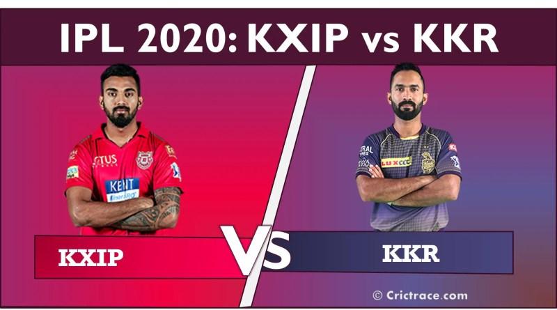 KXIP vs KKR