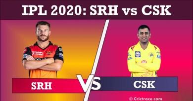 SRH vs CSK