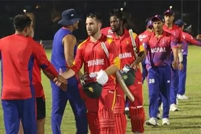 Zimbabwe defeats Nepal by 40 runs 4