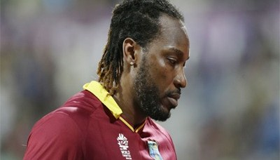 Chris Gayle takes a break from Cricket 2