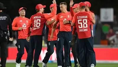 England defeats New Zealand, 4th T20I