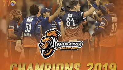 Maratha Arabians vs Deccan Gladiators, T10 League 2019, Final