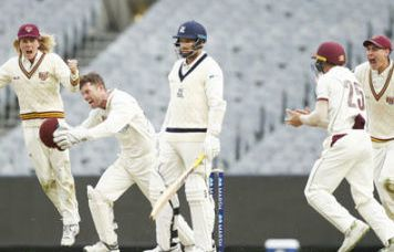 Queensland vs Victoria, Sheffield Shield 12th Match 1
