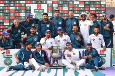 Central Punjab wins Quaid-e-Azam Trophy Final 2