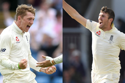 Craig Overton, Dom Bess called for up for England