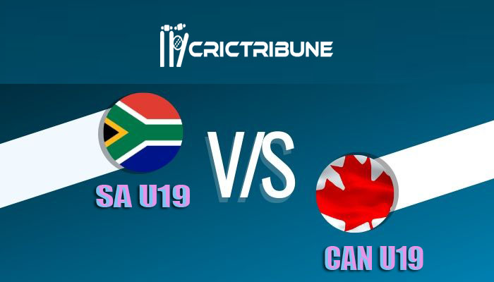 SA U19 vs CAN U19 Live Score, 12th Match, South Africa U19 vs Canada U19 Live 1