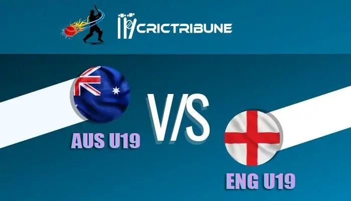 AUS U19 vs ENG U19 Live Score, 16th Match, Australia U19 vs England U19 Live 1