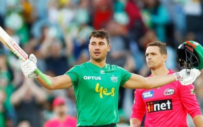Marcus Stoinis stars with the highest individual score in BBL 1