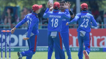Afghanistan's Ghafari stars with 6 wickets in the opening match of U-19 World Cup 3