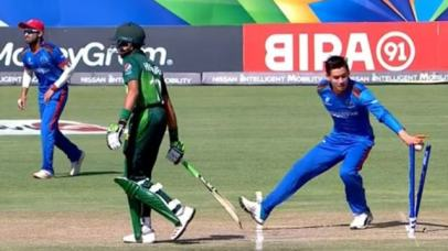 Afghanistan stoops to Mankading at the U19 World Cup 2