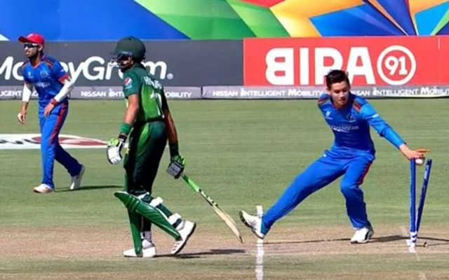 Afghanistan stoops to Mankading at the U19 World Cup