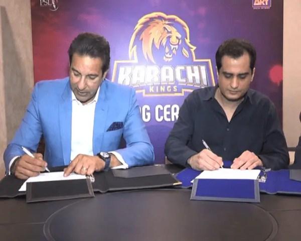 Q Mobile joins Karachi kings as a platinum sponsor