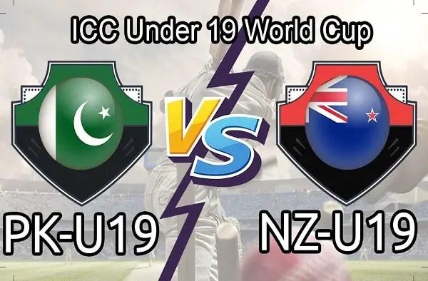 PAK U19 vs NZ U19 Live Score 3rd Place Playoff of U19 WC between Pakistan U19 vs New Zealand U19on 08 February 2020 Live Score & Live Streaming