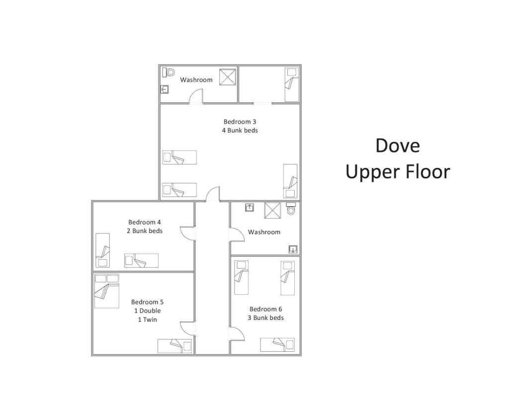 Dove - Upper Floor