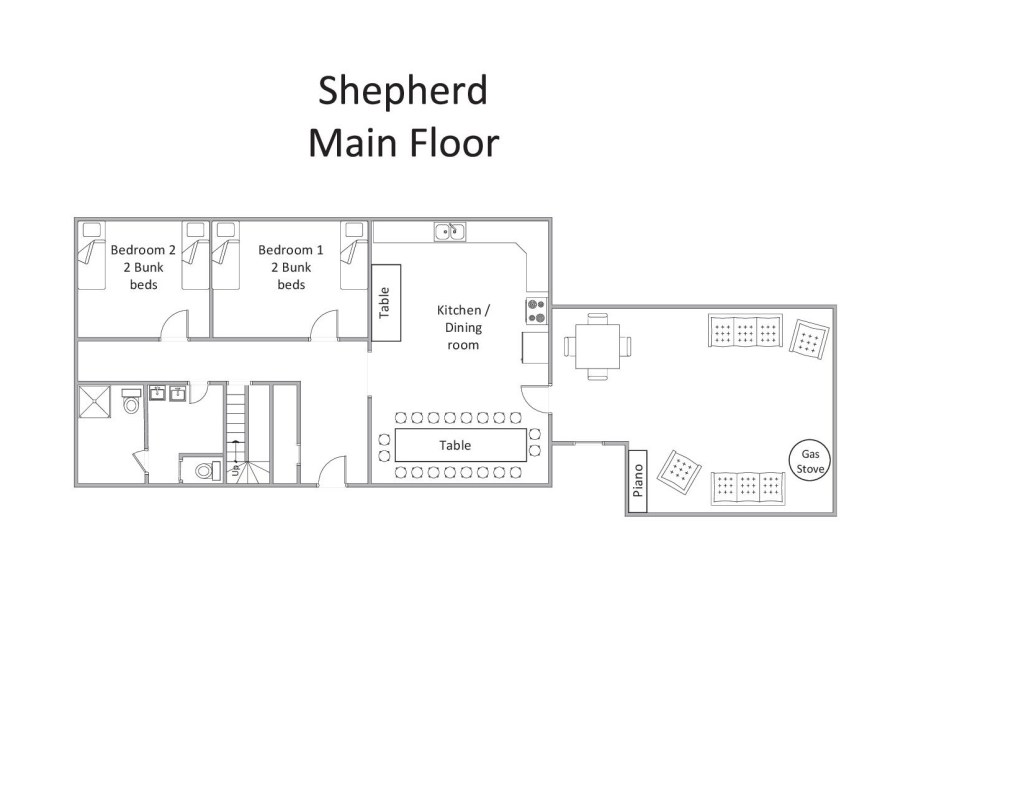 Shepherd - Main Floor