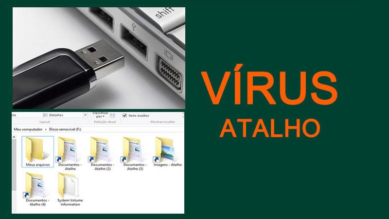 Como remover vírus de atalho drive.bat do computador e do pendrive definitivamente