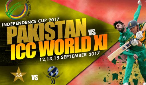 pAKISTAN VS wORLD XI, Pak vs World XI