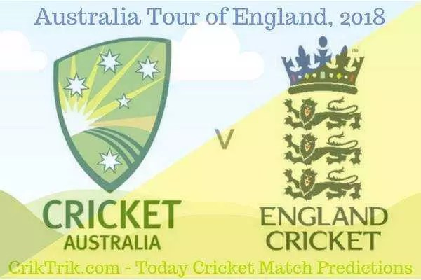 today match prediction - eng vs aus 2018